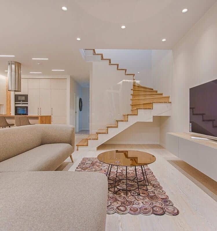تصویر دکوراسیون روشن منزل