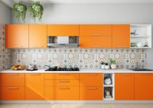 کابینت نارنجی