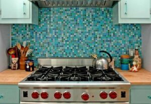 تصویر کاشی آشپزخانه