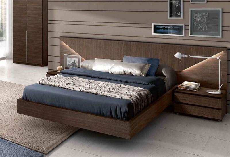 تصویر تخت خواب مدرن